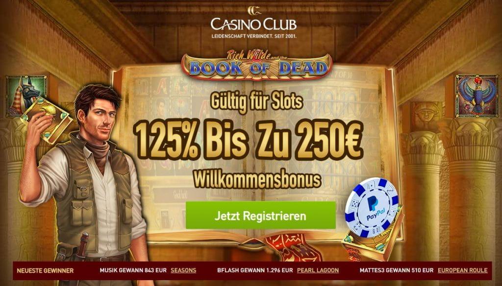 Casino Club Vertrauenswurdig